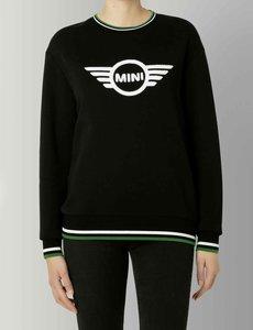 MINI Mini Loop Wing Logo Sweatshirt Dames Zwart
