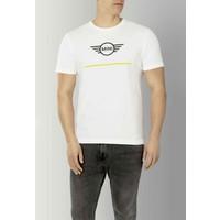 MINI Mini Wing logo T-Shirt Heren wit