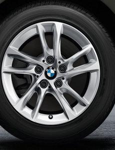"""BMW DEMO BMW Winterwielset 1  & 2 Serie F40/F44 Reflexsilber 474 16"""""""