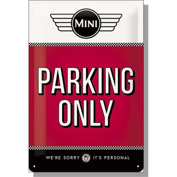 MINI MINI Parking Only Red