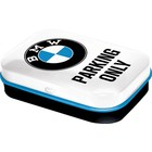 BMW Mint Box BMW Parking Only White