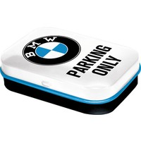 BMW Mint Box BMW Parking Only White