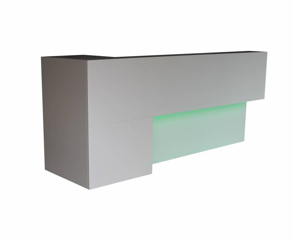 Verkaufstheke Paula inkl. LED-RGB Beleuchtung