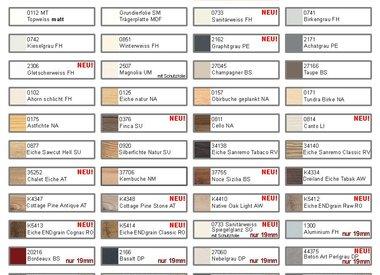 Farben/Holzdekore