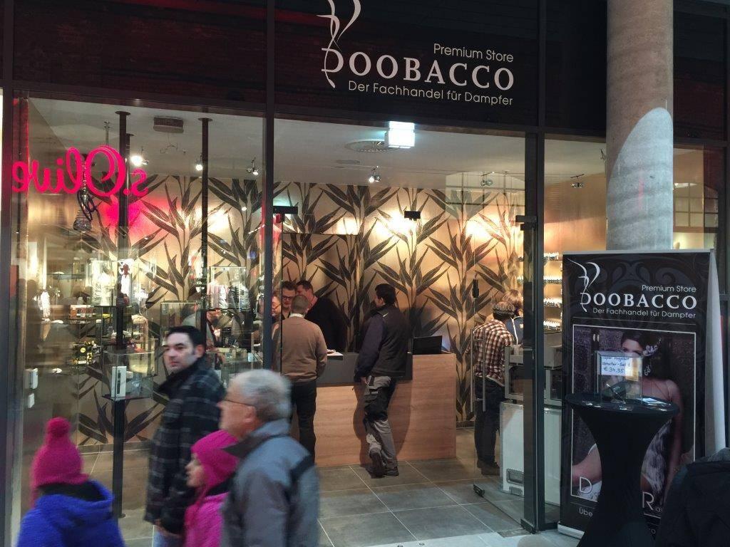 Eröffnung Doobacco-Store Limburg