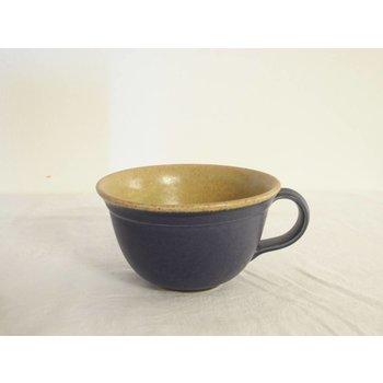 Weißiger Keramik Teetasse zweifabig