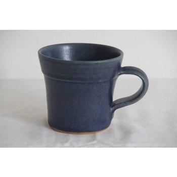 Weißiger Keramik Kindertasse Blau / zweifarbig / Affe