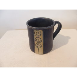 Weißiger Keramik Pott