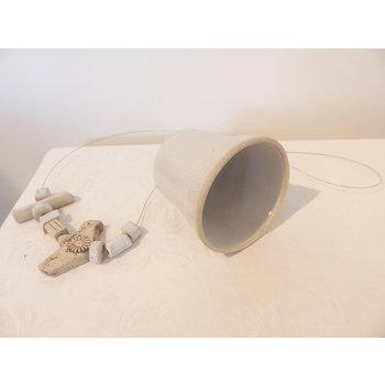 Weißiger Keramik Meisenglocke