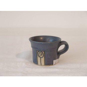 Weißiger Keramik Espressotasse rose