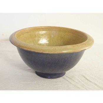 Weißiger Keramik Schüssel klein zweifarbig
