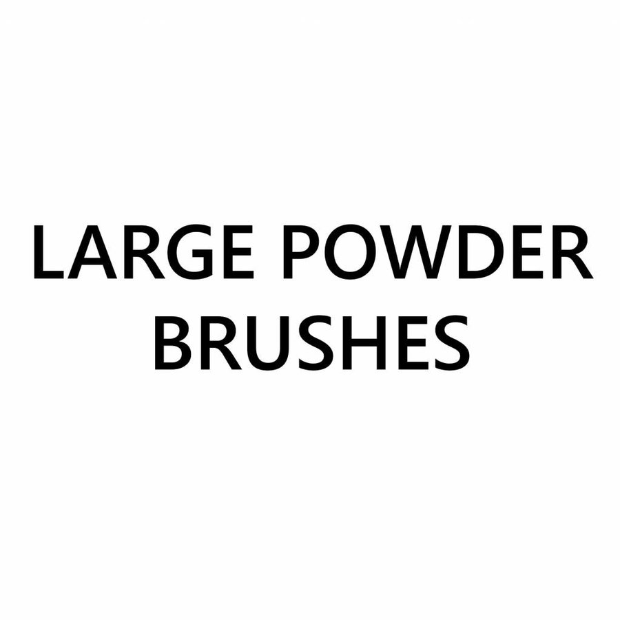 Large Powder Brushes