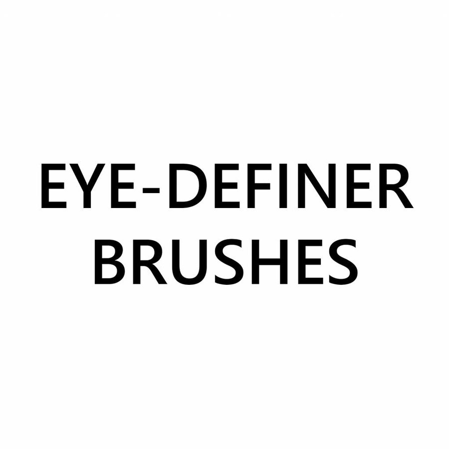 Eye-definer Brushes