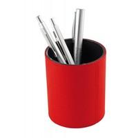 Lederen pennenbakje- diverse kleuren