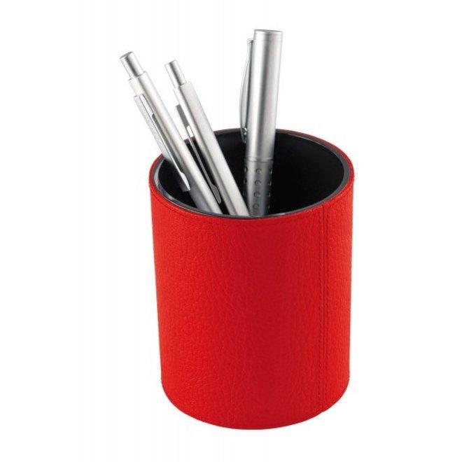 Lederen pennenbakje - diverse kleuren