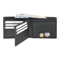Leren portemonnee met veel opbergruimte