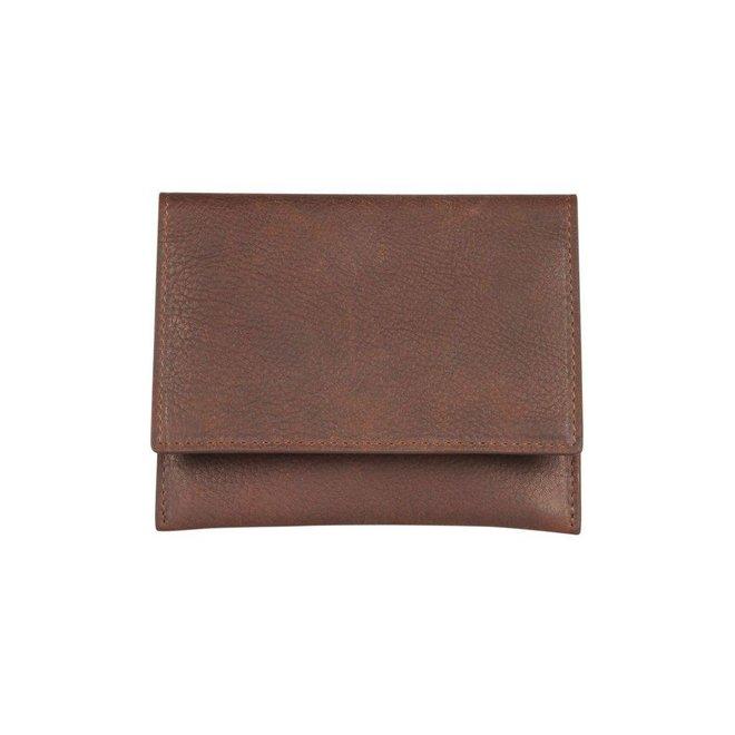 Leren portemonnee Burkely Antique Avery Wallet Unisex