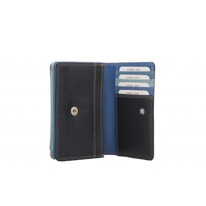 Leren portemonnee Burkely Multicolour Wallet M