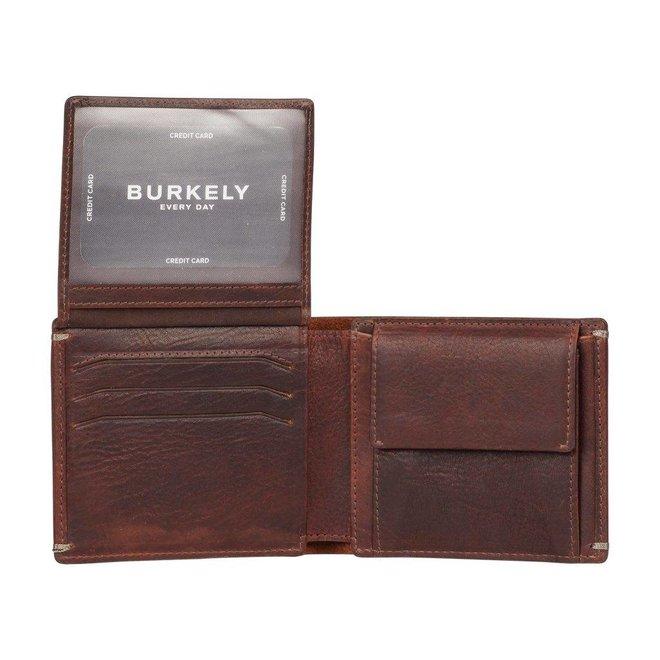 Leren portemonnee Burkely Antique Avery Billfold Low Flap