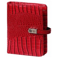 Kalpa Organizer Kalpa Junior Pocket Croco Gloss Rood