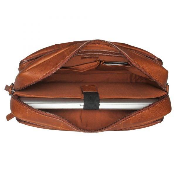 53b8db46b7b Leren laptoptas Antique Avery 15 inch, van Burkely - te koop bij ...