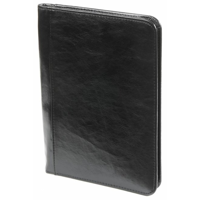 A4 Schrijfmap Kalpa met rits Pullup zwart