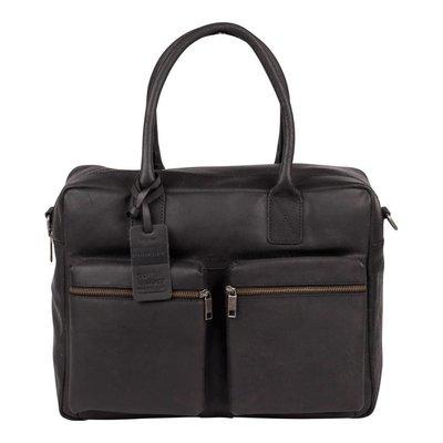 "Burkely Leren westernbag/laptoptas Burkely Vintage Alex 17""inch"