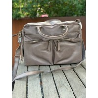 "GreenBurry Leren laptoptas/aktetas/westernbag Boston 13""inch"