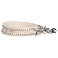 PimpsandPearls  Leren trendy armband met studs PimpsandPearls