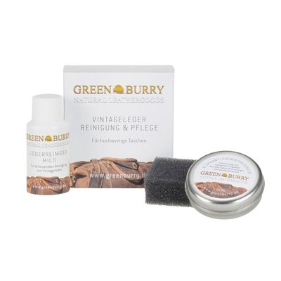 GreenBurry Reinigings- en verzorgingsset