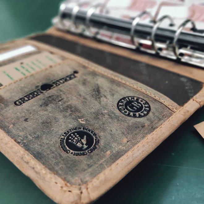 Leren Personal Organizer Vintage