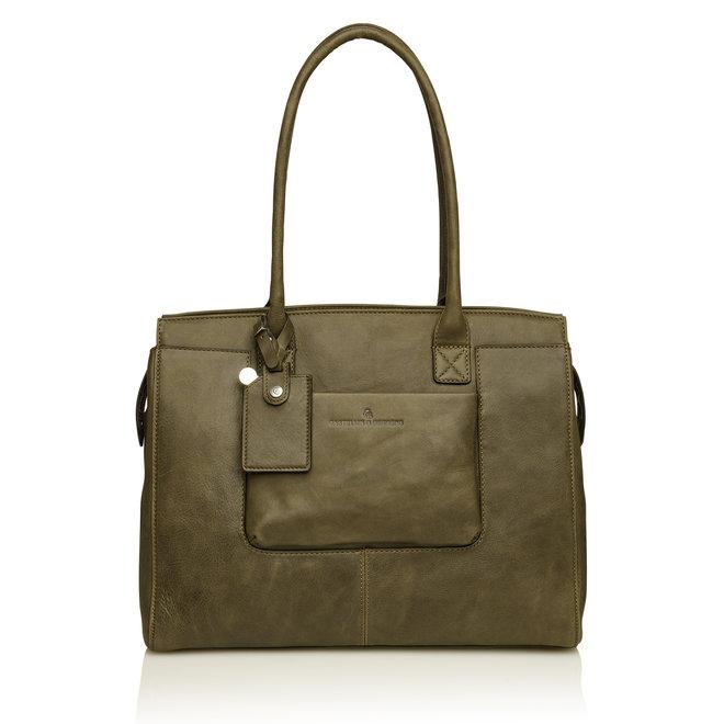 """Leren business bag Carisma by Castelijn & Beerens 15,6""""inch"""