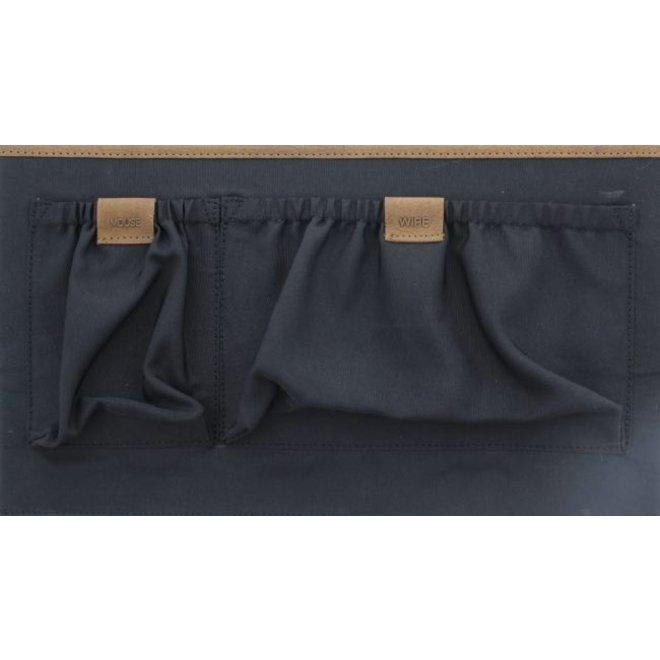 Leren laptoptas/businesstas 17,3 inch Surrey