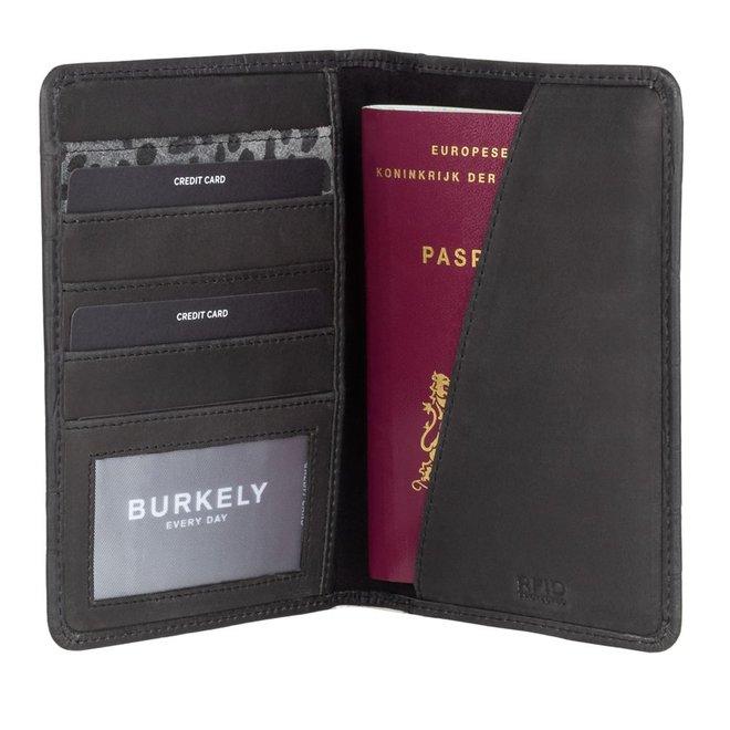 Lederen paspoort étui RFID - in twee kleuren