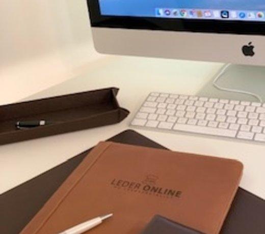 Lederen Schrijfmappen A4