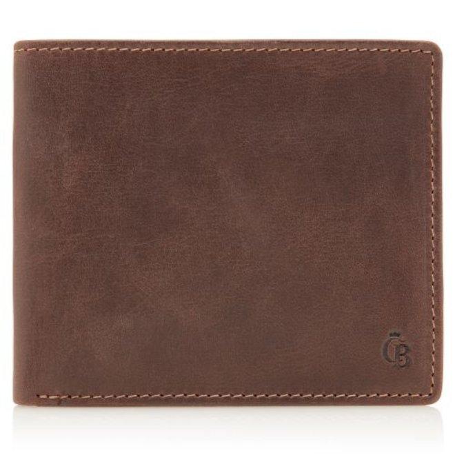 Leren billfold portemonnee C&B Canyon - 11 card