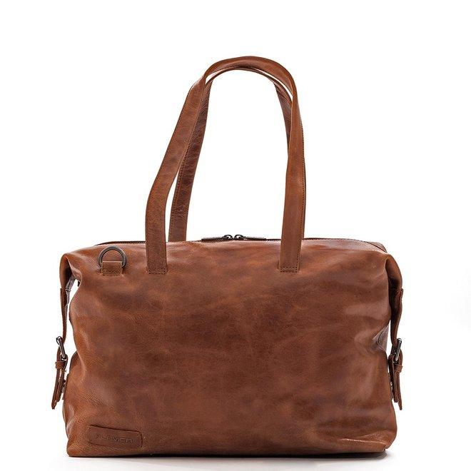 "Dames laptoptas 15.5""inch Caithness - Cognac"