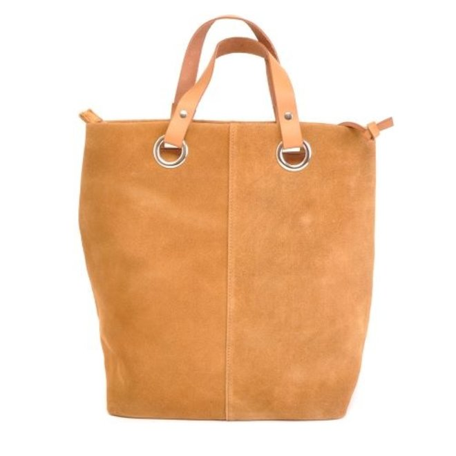 Berba Lederen shopper Large