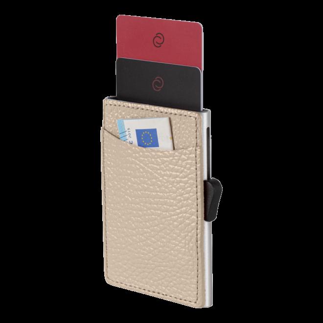 Lederen kaarthouder RFID - diverse kleuren