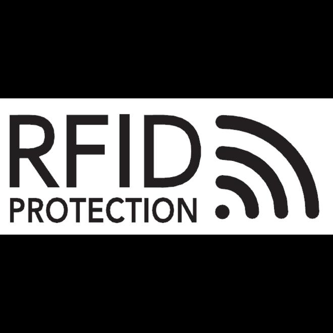 Lederen portemonnee Compact billfold RFID