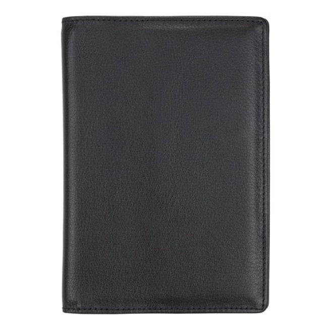 Leren paspoort omslag privacy protected