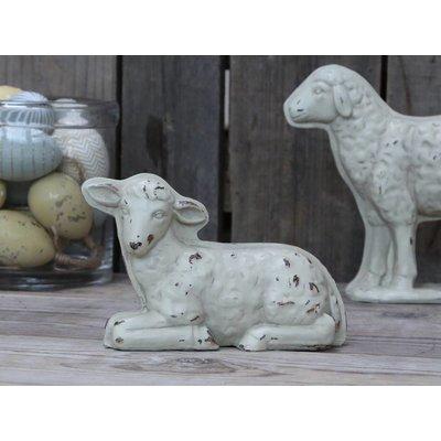 Chic Antique Lamm, antique creme