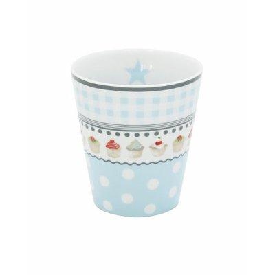 Mug, blue Muffin