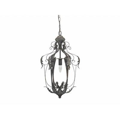 Chic Antique Kronleuchter, Lampe mit Blattdekor