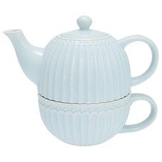 Greengate Tea for one Alice pale blue