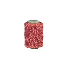 IB Laursen rot-weiß Garnrolle