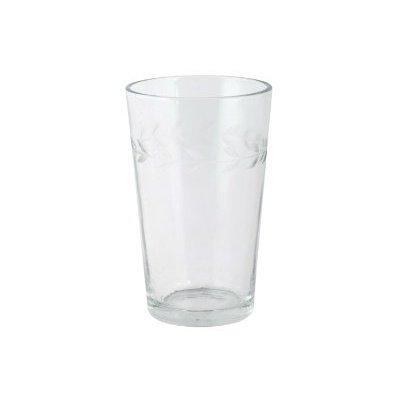 IB Laursen Trinkglas mit geschliffener Kante