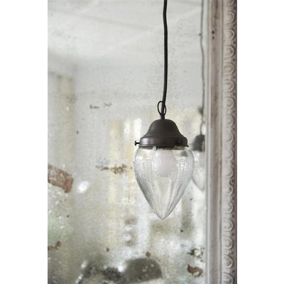 Jeanne d'Arc Living Hanging Lamp- Glass cone