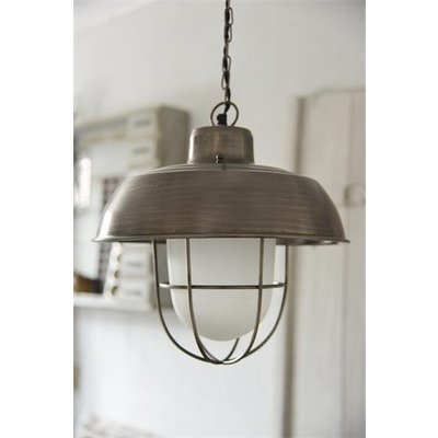 Jeanne d'Arc Living Hanging Lamp- Grid/ frosted