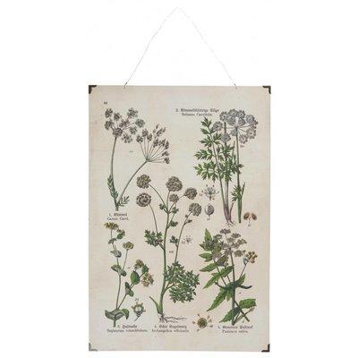 IB Laursen Wandbild mit Blumen